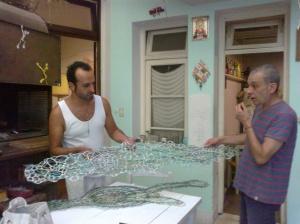 Diego Paqué y Roberto Fernández
