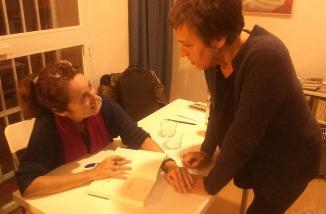 Con Marta Sanz 2
